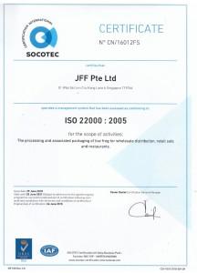 ISO 22000 socotec certificate1