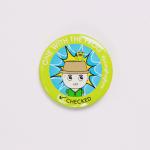 JFF Online Shop Product – Frog Badge 01