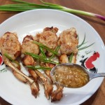 ginger garlic frog 1