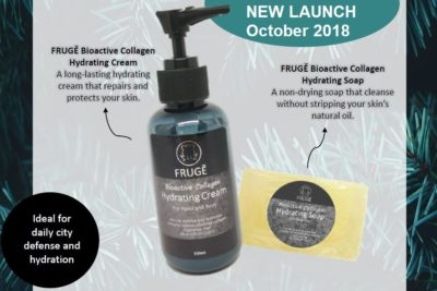 FRUGE BIOACTIVE HYDRATING CREAM N SOAP POSTER