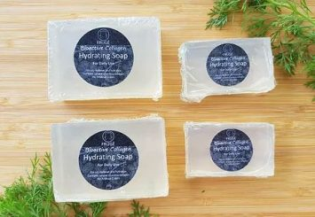 FRUGE BIOACTIVE HYDRATING SOAP x4
