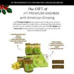 JFF PREMIUM Hashima Bottled Ginseng POSTER 2