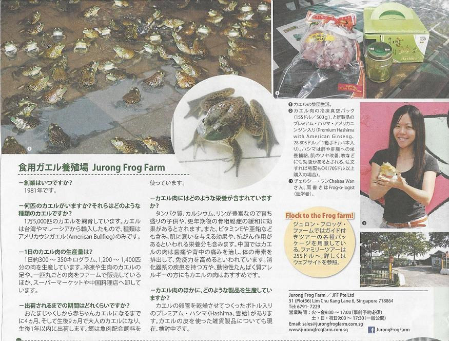 JFF - Featured in Japan's AsiaX publication on Dec 3rd 2012