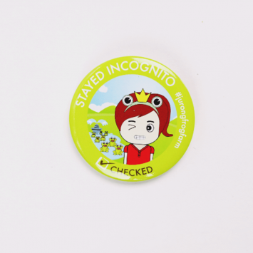 JFF Online Shop Product – Frog Badge 02