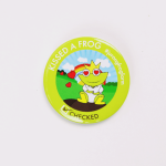 JFF Online Shop Product – Frog Badge 03
